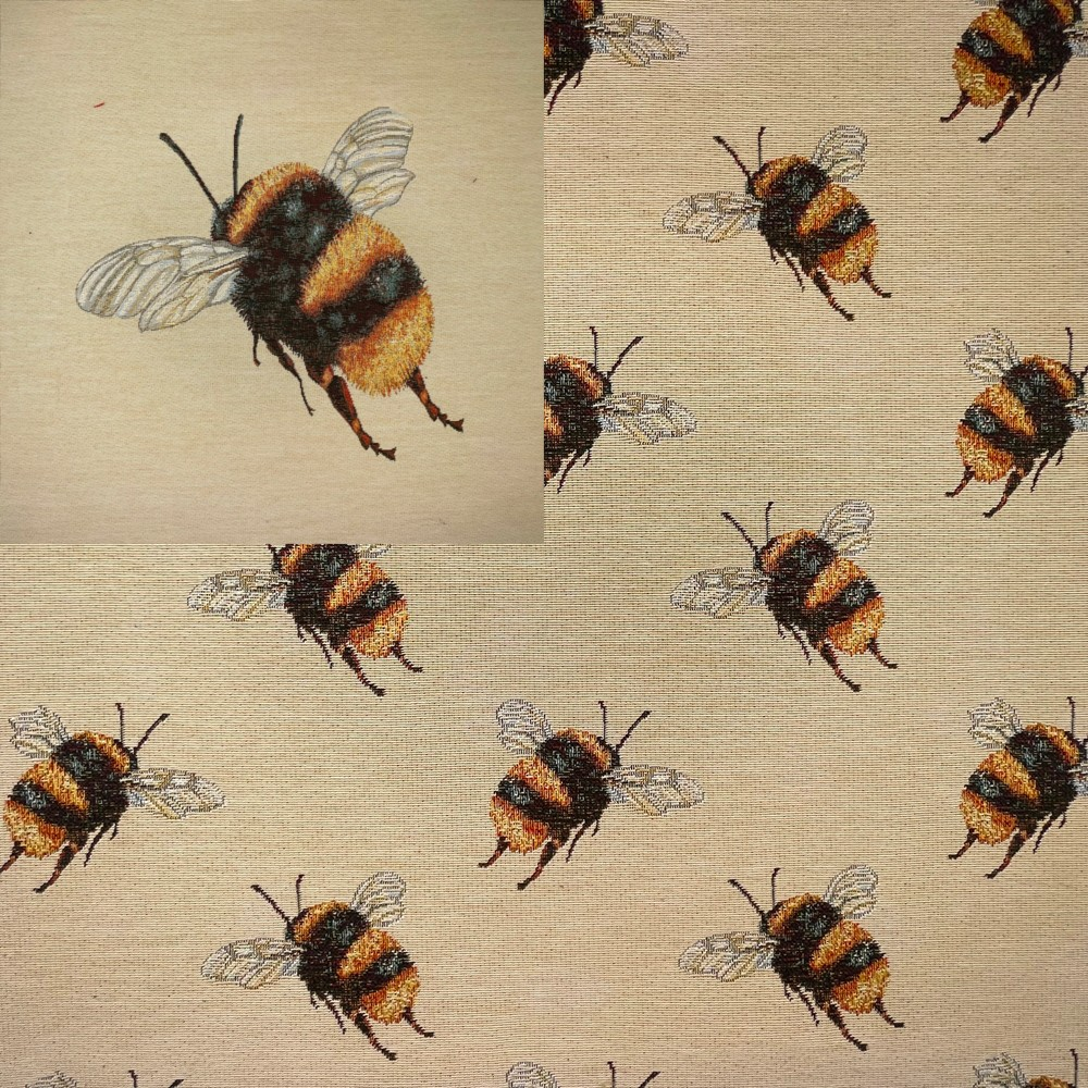 Tapestry Fabric Bumble Bee...