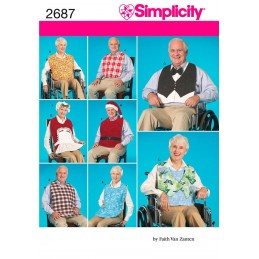 Simplicity Crafts Clothing Protectors Sewing Pattern 2687