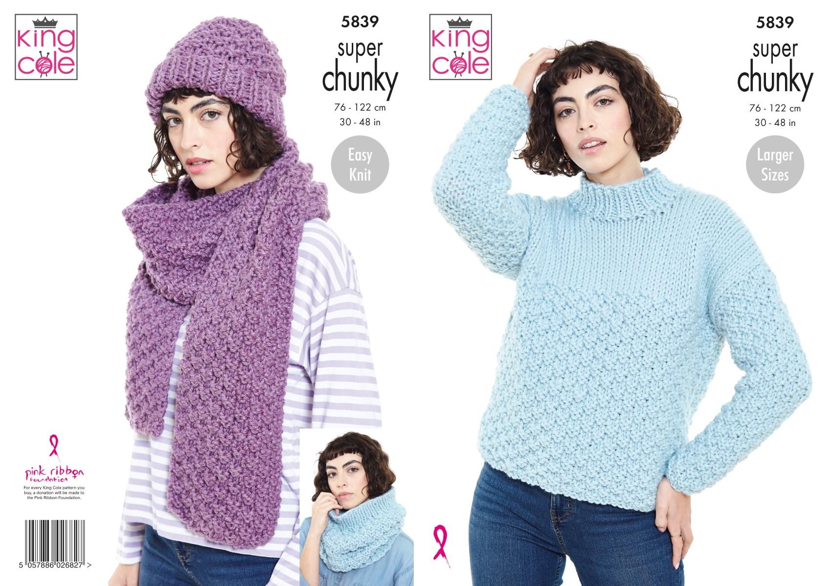 King Cole Knitting Pattern...