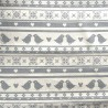 100% Cotton Fabric John Louden Scandinavian Christmas Birds Robins Xmas