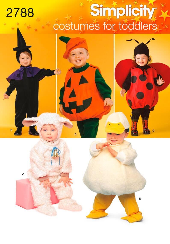 Simplicity Toddler Pumpkin...