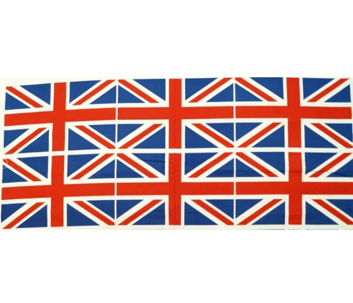 100% Cotton Fabric Flag...