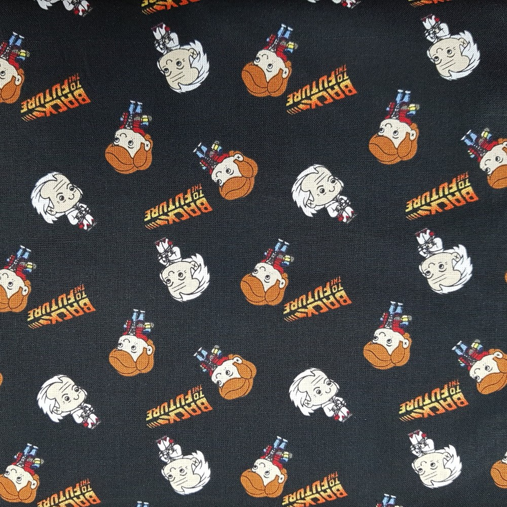 100% Cotton Fabric Back To...