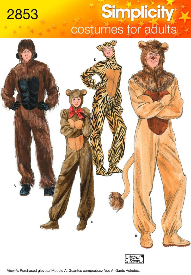 Adult Animal Costumes...