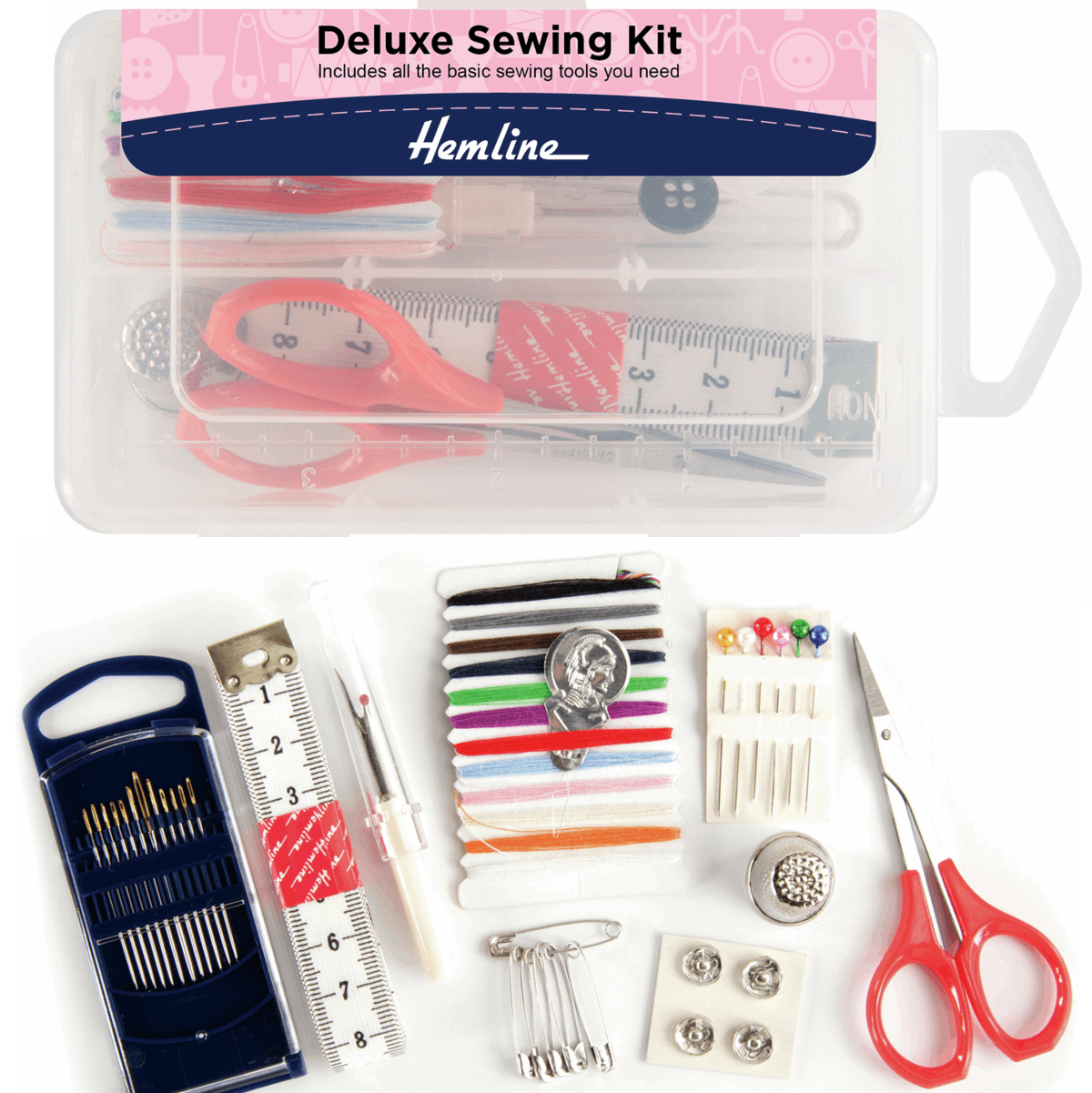 Hemline Deluxe Sewing Kit...