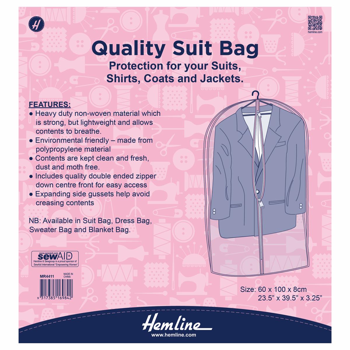 Hemline Suit Bag Cover...