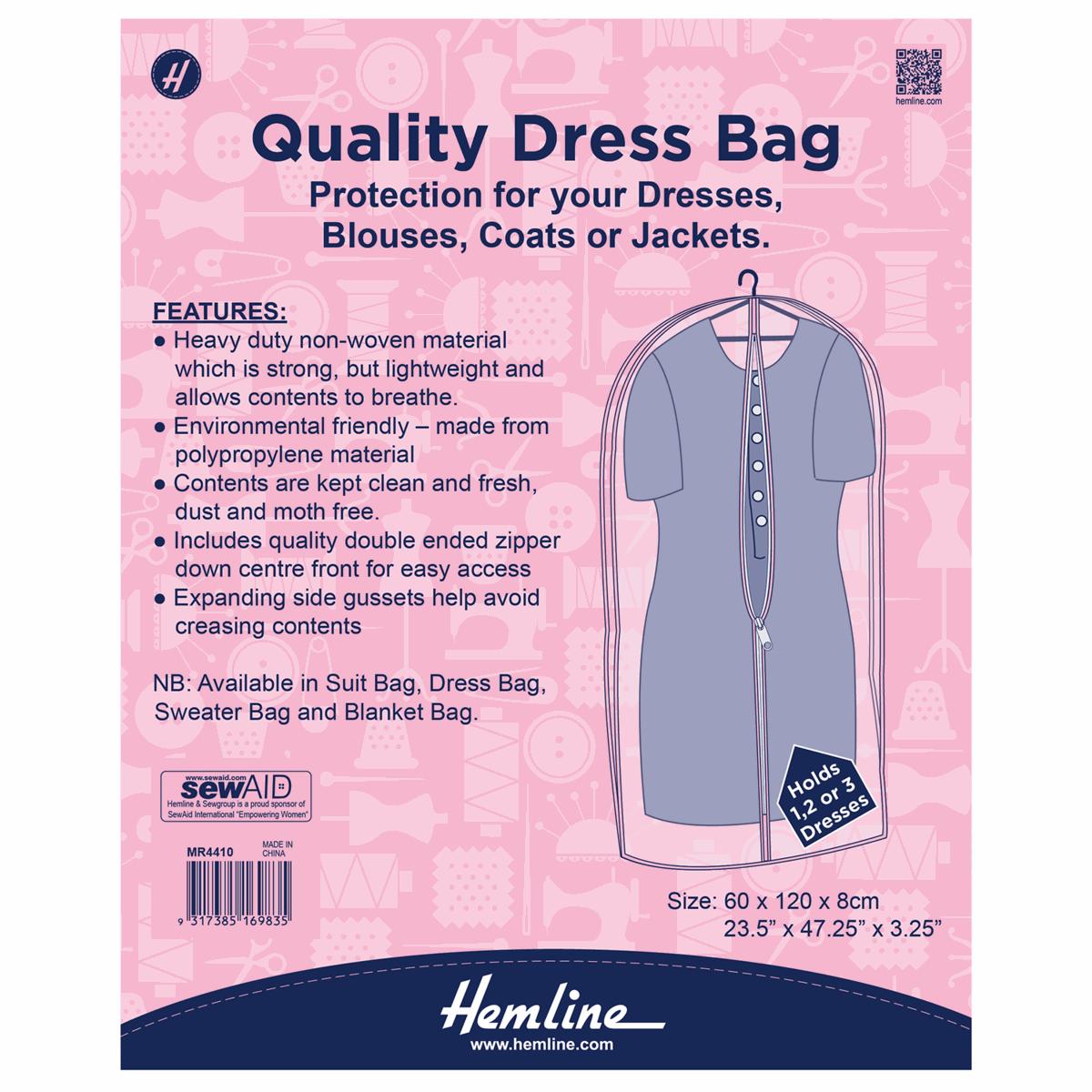 Hemline Dress Bag Cover...