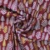 100% Cotton Poplin Fabric Twiggy Metallic Christmas Trees Xmas Festive