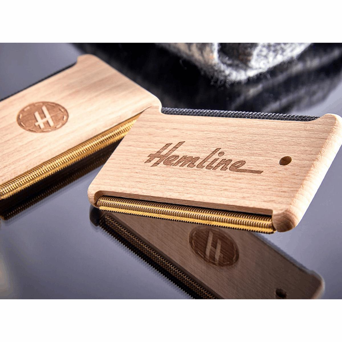 Hemline Fabric & Wool Comb...