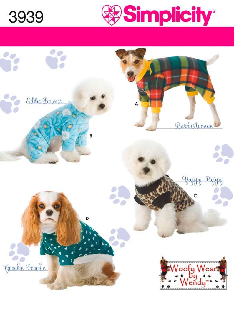 Simplicity Dog Clothes...