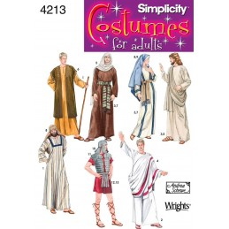 Men's Roman Costumes Simplicity Fabric Sewing Patterns 4213