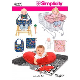 Baby Accessories Craft Simplicity Sewing Patterns 4225