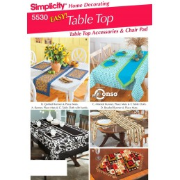 Home Accessories Simplicity Fabric Sewing Pattern 5530