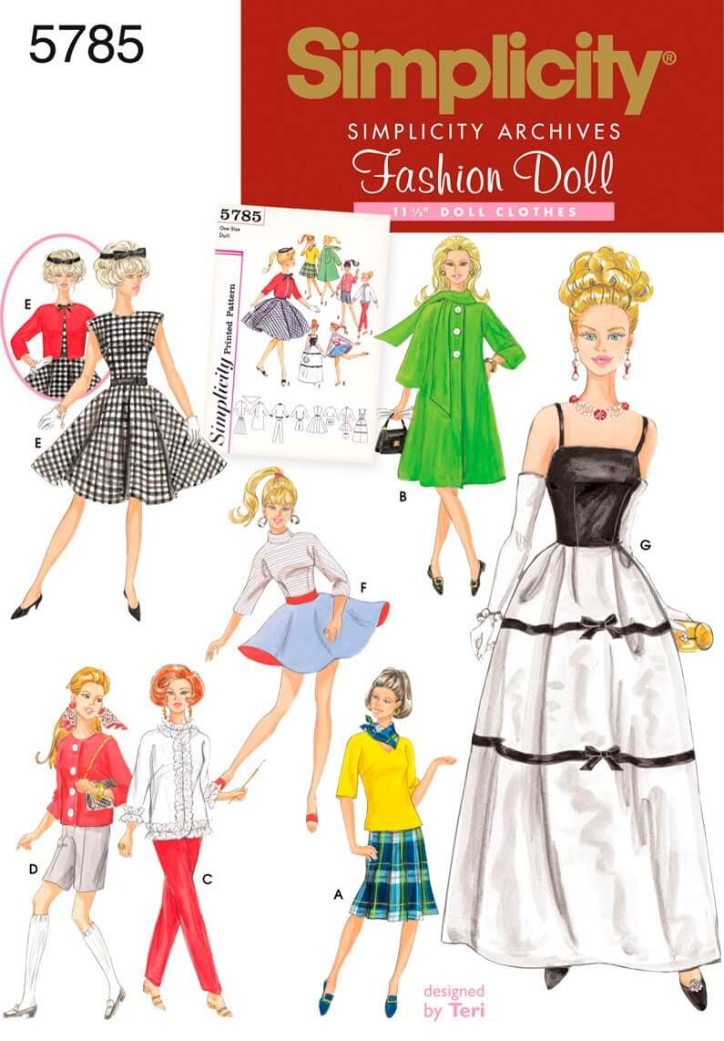 Simplicity 11.5 Inch Doll...