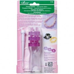 Clover French Knitter - Bead Jewellery Maker Craft Tool