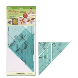 Clover Trace n Create Quilt Templates (Lone Star) Craft Tool