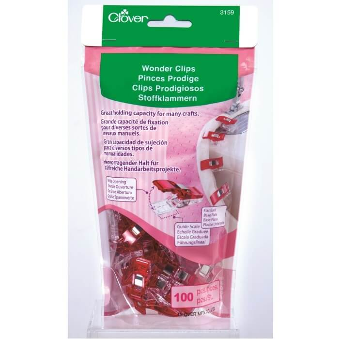Clover Wonder Clips 10, 50,...