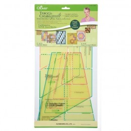 Clover Trace n Create Quilt Template - Granmothers Patch Craft Tool