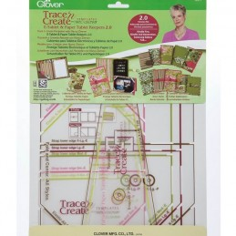 Clover E-Tablet and Paper Keepers 2.0 Templates Craft Tool