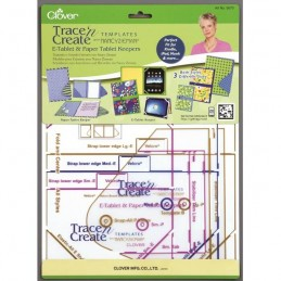 Clover E-Tablet and Paper Keepers Templates Craft Tool