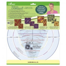 Clover Carefree Curves Templates - 3pk Templates Craft Tool