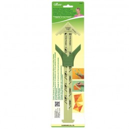 Clover Triangle Gauge Templates Craft Tool