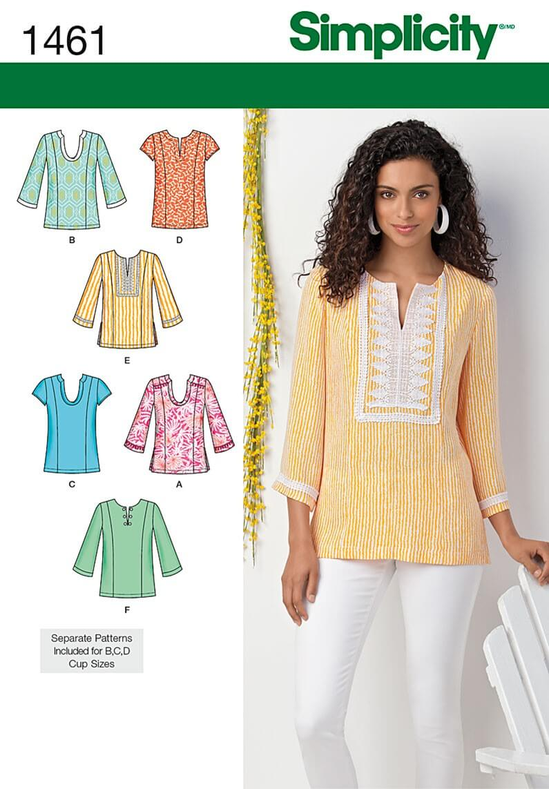 Misses and Plus Tunic With...