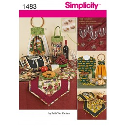 Entertainment Accessories Simplicity Sewing Patterns 1483