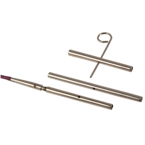 Knit Pro 3 x Knitting Cable Connectors with Key Circular Needles Accessories