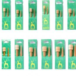 Pony 33cm Bamboo Knitting Needles 2.75mm - 10mm