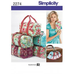 Misses' Bags Simplicity Fabric Sewing Pattern 2274
