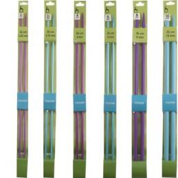 35cm Coloured Pony Knitting Needles 3.25mm - 10.00mm
