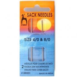 Pony Sack Sewing Needles Size 4/0 and 8/0 Darning