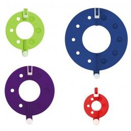KnitPro Split Pom Pom Maker 4 Pack Knitting Accessories