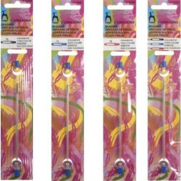 Pony Ultra Long Beading Needles Colour-Coded Eye 10,11,12 & 10/12