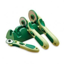 Clover Rotary Cutter Cradle Holds Up to 3 Cutters