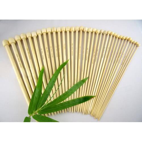 17 Pairs 34cm Bamboo Single...