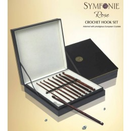KnitPro Symfonie Rose Crochet Hook Deluxe Set