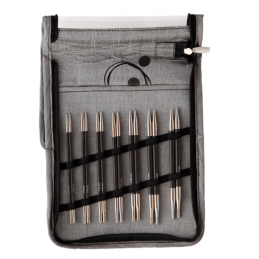 KnitPro Karbonz Interchangeable Knitting Needle Deluxe Set