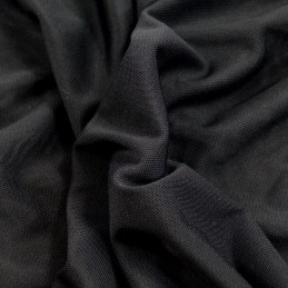 Power Net / Mesh Stretch Fabric Material 162cms Wide Lining Dance Wear Black