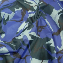 Urban Camo Ripstop Fabric Army Military Camouflage