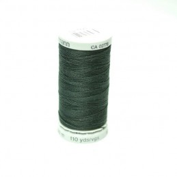 Black Gutermann Polyester Extra Strong Upholstery Sewing Thread 100m