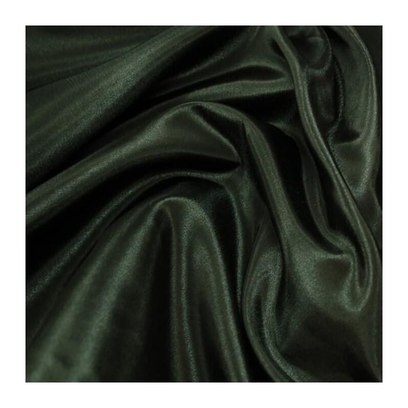 Black Taffeta Fabric Silk & Satin Look Crisp Feel and a Metallic Sheen Prom, Bridal, Wedding Dress