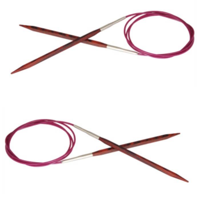 40cm Knitpro Cubics Fixed Circular Knitting Needles 3mm - 6mm