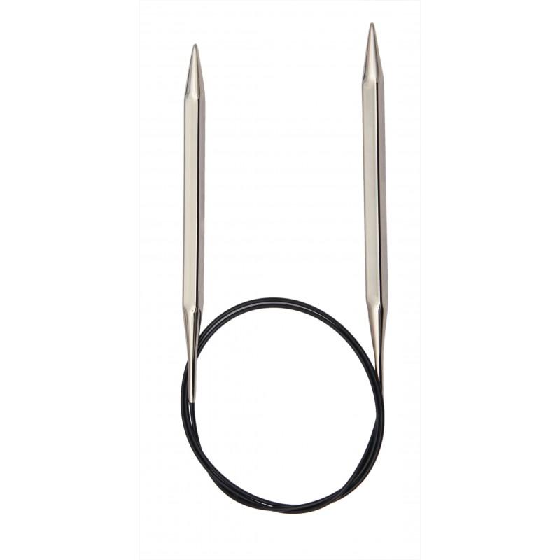 2/½mm x 100cm KnitPro KP12211 Nova Cubics Fixed Circular Knitting Needle