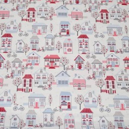 Lifestyle Home Sweet Home 140cm Wide 100% Cotton Fabric