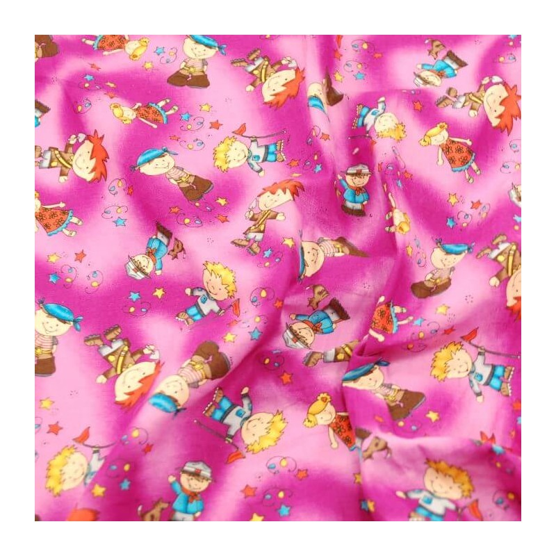 A Walk In The Park Explorers 100% Cotton Fabric