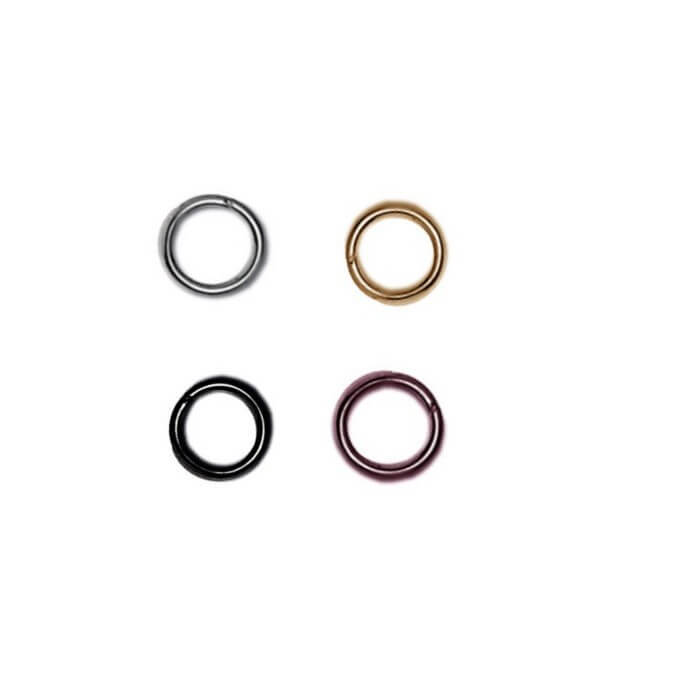 5mm Split Rings Jewellery Making Accessories Pack Of 30