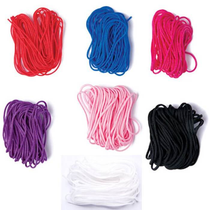 Nylon Bracelet & Necklace Making Thread In 7 Colours