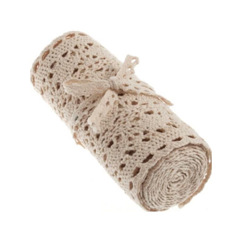 Christmas Decorative Cotton Lace Roll Trim
